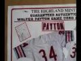 Win A Walter Payton Game Used Jersey For Father&apos S Day