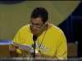 Adam Sandler - Speech - Big Daddy - MTV 2000