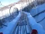 Alpine Coaster At Park City, Utah