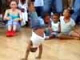 Baby Breakdancing