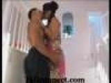 Hot Japanse Girl Kissing On The Floor