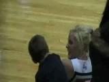 Kid Gets Cheerleader To Kiss Him