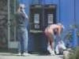 Public Phone Nudity Prank