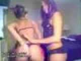 Two Hot Girls Strip Tease