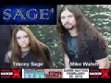 Tracey And Mike Of SAGE4 On WXRX 104