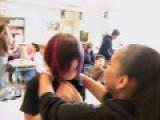 Strangling AZN Karissa