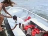 Caduta Debora Caprioglio L&#39 Isola Dei
