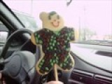 Dancing Soldier Bear Cookie