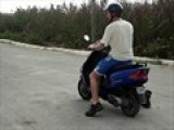 My Brother Attempting A Wheelie