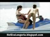 Sexy Eva Longoria In Bikini Video