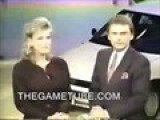 Pat Sajak Kisses Vanna White On The