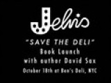 Jelvis Hosts SAVE THE DELI Book