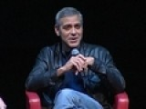 George Clooney Snubs The Media