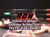 ROH Tapes Pay Per View In Edison