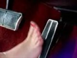 Pedal Pumping Cranking Revving Barefoot