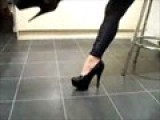 Mistress Giselle Stamps Around Her
