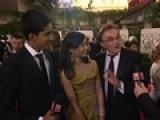 Globes 2009: Danny Boyle, Dev & Freida