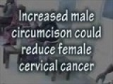 Male Circumcision Reduces Cervical