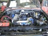 81 Toyota Hilux 22rte Swap First Start