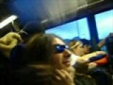 Demi Gets Jumpted On Bus Ride Home
