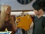 Nancy Goes Shopping With Adam Lambert