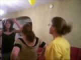 Sam, Holly, Raina And Me Dancing To