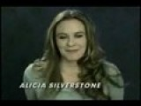 Alicia Silverstone Speaks To