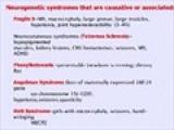 Autism & Genetic Disease