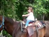 Katie Beth Riding A Horse