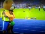 Mascot Celebration Fail