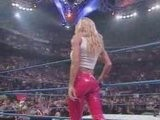 Torrie Wilson Yanks Down Stacy Keibler Skirt