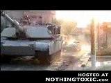 M1 ABRAMS Aplasta Taxi Iraqui