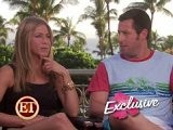Jennifer Aniston & Adam Sandler - ET Interview