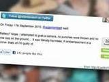 SNTV - Adam Lambert Swings To His Defense