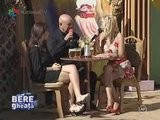 JULIA JIANU Upskirt National TV - 27 September 2