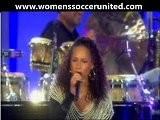 Alicia Keys World Cup Kick Off Concert 2010