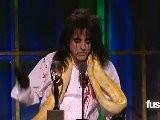 2011 Rock & Roll Hall Of Fame - Alice Cooper