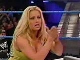 Torrie Wilson Vs Trish Stratus Arm Wrestling