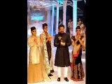 Anil Kapoor And Lisa Haydon Walk For Anamika Khanna