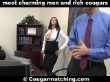 Sex Starved Office Babe Seducing A Computer Geek