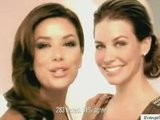 Evangeline Lilly And Eva Longoria L'oreal Advert
