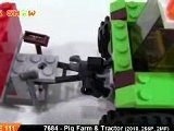 LEGO City Pig Farm & Tractor : LEGO 7684