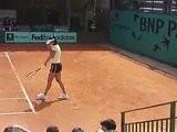 Entrainement De Ana Ivanovic à RG