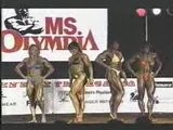 Female Muscle - Ms Olympia Posedown 1999