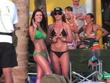 The Hills Star Audrina Patridge Looks Stunning In A Green Bikini As She Films Scenes For Into The Blue 2: The Reef