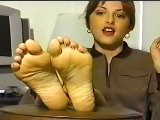 Classic foot fetish