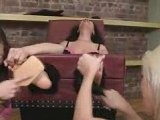 Tickle Abuse - Brooke Lickled And Tickled