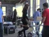 Cindy Crawford Hinter Den Kulissen Beim Werbespotdreh Für DE