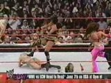 Beth Pheonix & Torrie Wilson With Trish Stratus Vs. Candic