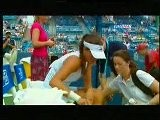 WTA Cincinnati 2010 SF - Ana Ivanovic Forced To Retire
